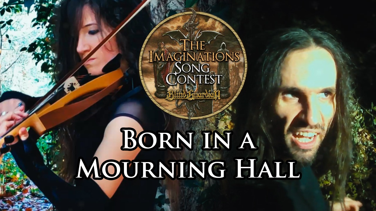 Born in a mourning hall cover